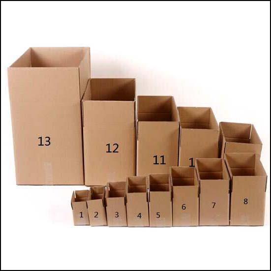 纸箱包装的分类标准